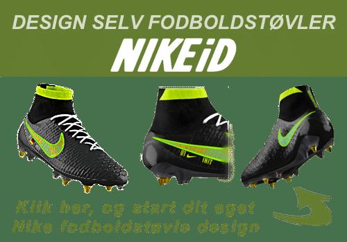 Nike Mercurial design selv fodboldstøvler